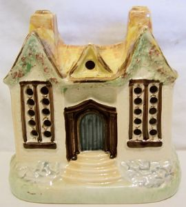 Carlton Ware Cottage Large Light Holder - 1950s